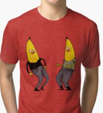 bananas in regular clothing Tri-blend T-Shirt