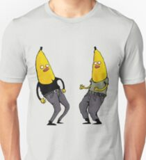 bananas in regular clothing Unisex T-Shirt