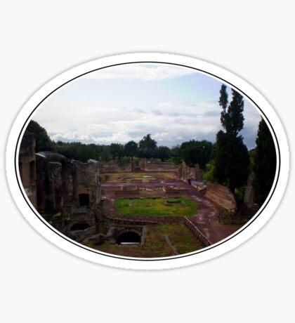 Hadrian's Villa Sticker