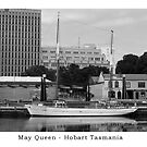 Ketch SV May Queen - Postcard by Ricky Pfeiffer