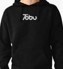 Tobu - White logo Pullover Hoodie