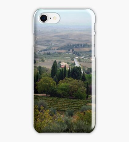 Pienza Landscape iPhone Case/Skin