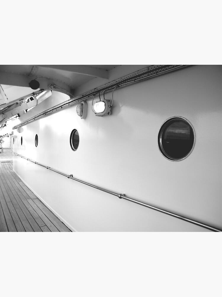 Portholes, Royal Yacht Britannia, Edinburgh by robsteadman