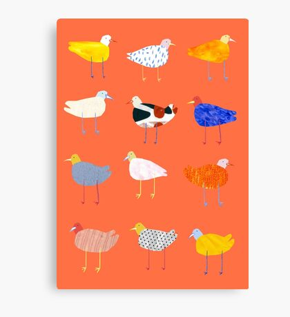You Funky Bird Canvas Print