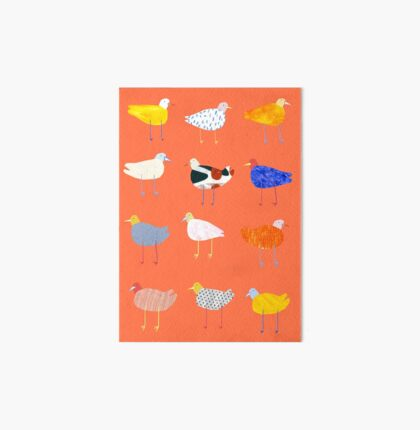 You Funky Bird Art Board