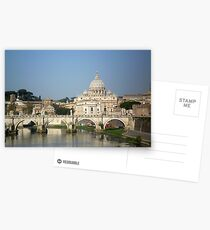 Sunday morning in Rome Postcards