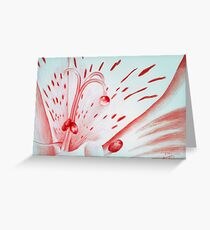 Drawing Day Red Bubble Nectar Greeting Card