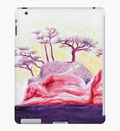 Drawing Day Purple Bonsai Island iPad Case/Skin