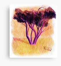 Drawing Day Tree Canvas Print