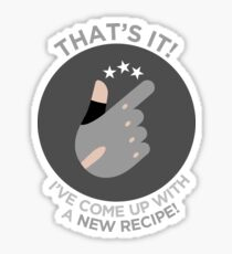 That's It! A New Recipe! Sticker