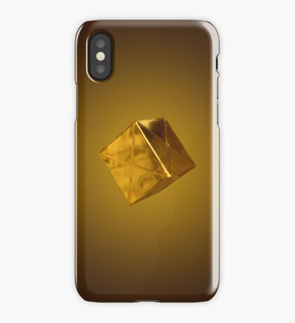 Floating Gold iPhone Case/Skin
