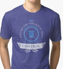 Magic The Gathering - Control Life Tri-blend T-Shirt