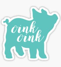 Oink Oink Sticker