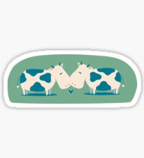 Love Cows  Sticker
