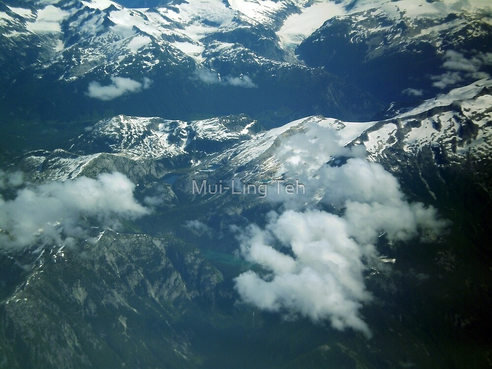 Vancouver Mountains by Mui-Ling Teh
