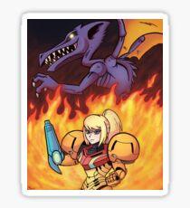 Chozo Warrior Sticker