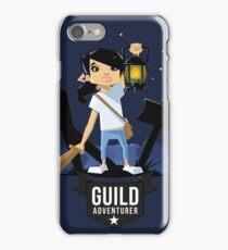 Girl Adventurer iPhone Case/Skin