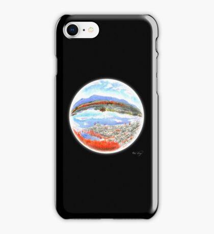 Landscape in a Ball iPhone Case/Skin