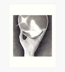 Reflection in a Ball Art Print