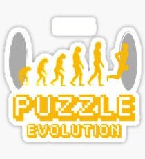 Puzzle Evolution Sticker