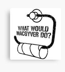 MacGyver  Canvas Print