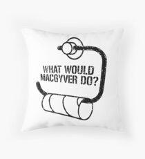 MacGyver  Throw Pillow