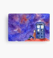 Doctor Dreaming Canvas Print