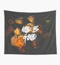 God is Good Wall Tapestry