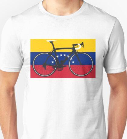 Bike Flag Venezuela (Big - Highlight) T-Shirt