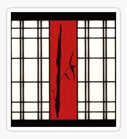 Shoji - Bambus Sticker
