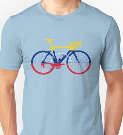 Bike Flag Venezuela (Big) T-Shirt