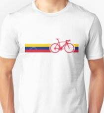 Bike Stripes Venezuela  Unisex T-Shirt