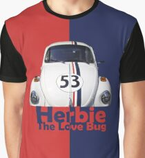Herbie The Love Bug Graphic T-Shirt