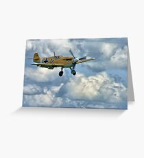 Wheels Down - HDR Greeting Card