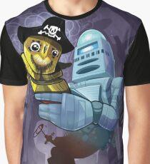 Camiseta gráfica robotowl