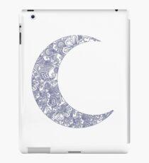 floral moon iPad Case/Skin