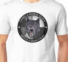 Codes a delete query Unisex T-Shirt