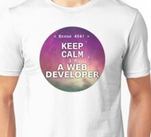 Keep calm I'm a web developer Unisex T-Shirt