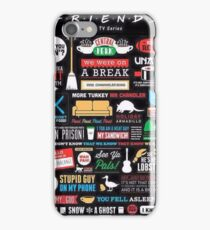 Best Moments of FRIENDS iPhone Case/Skin