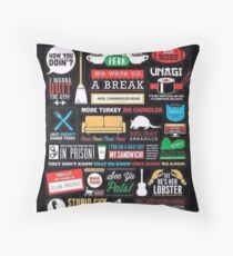 Best Moments of FRIENDS Throw Pillow