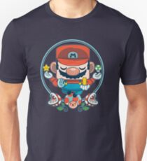 Mario: Destroyer of Obstacles T-Shirt