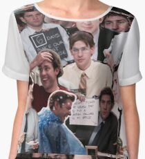 Jim Halpert - The Office Women's Chiffon Top