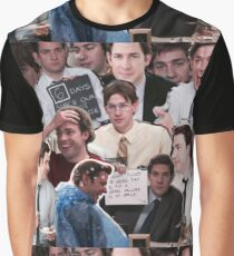 Jim Halpert - The Office Graphic T-Shirt