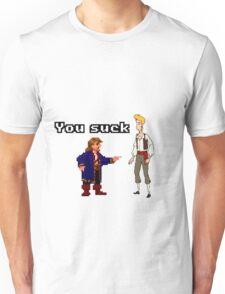 Guybrush you suck Unisex T-Shirt