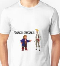 Guybrush you suck Unisex T-Shirt