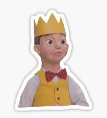 King. Sticker