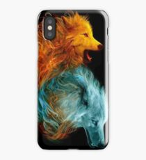 Fire & Ice iPhone Case