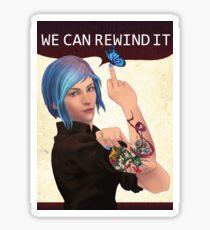WE CAN REWIND IT Sticker