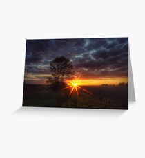 Star filter Greeting Card