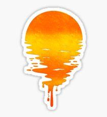 Sun Drip Sticker